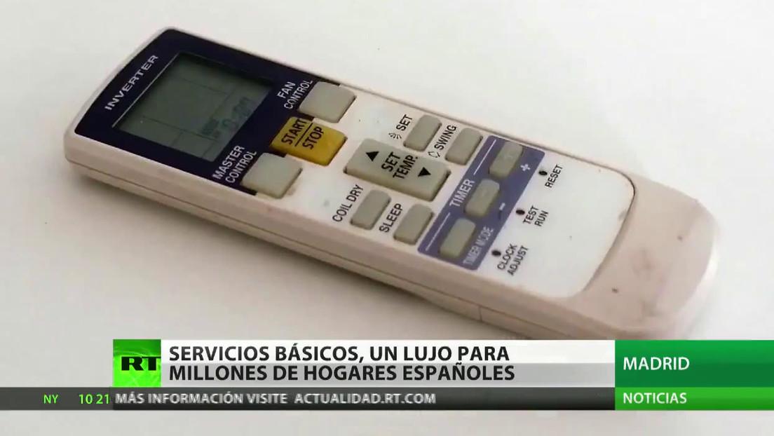 Servicios básicos, un lujo para millones de hogares en España