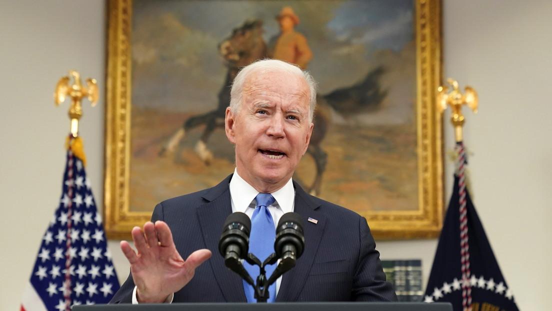 Biden no cree que el Gobierno ruso haya estado detrás del ataque a Colonial Pipeline