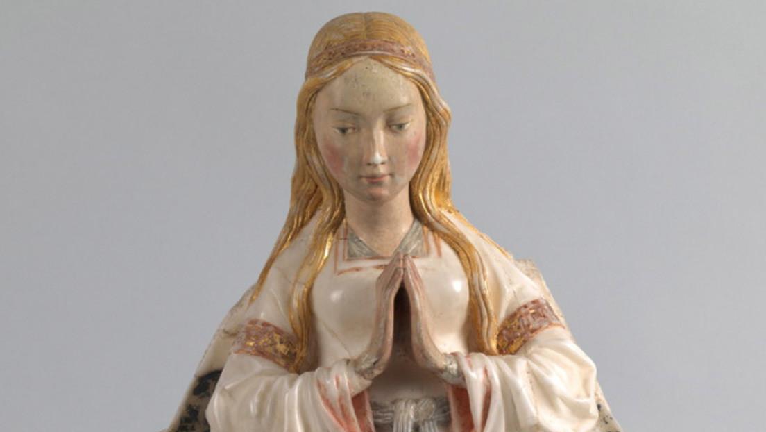 El Museo del Prado descubre un error de 500 años en una de sus famosas esculturas 'medievales'