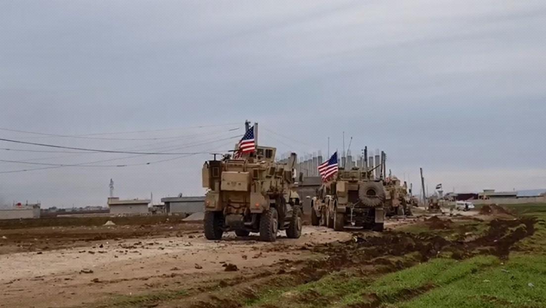 Militares rusos detienen en Siria un convoy de vehículos de EE.UU. que se desplazaba por una ruta no coordinada