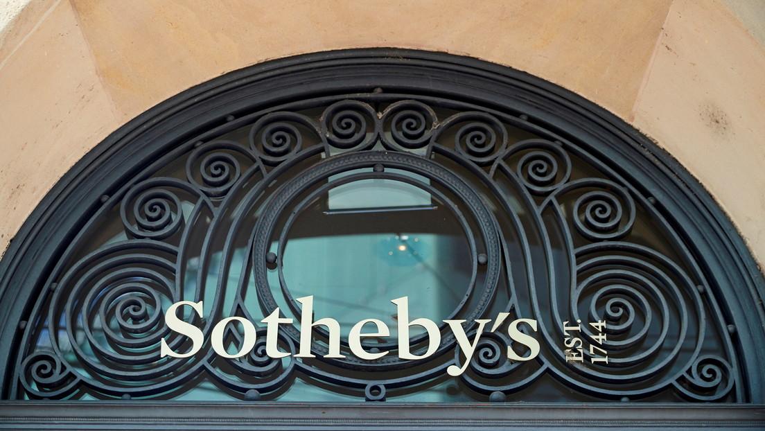 Sotheby's subasta una célebre obra de Banksy en 12,9 millones de dólares y por primera vez permite pagar con criptomonedas