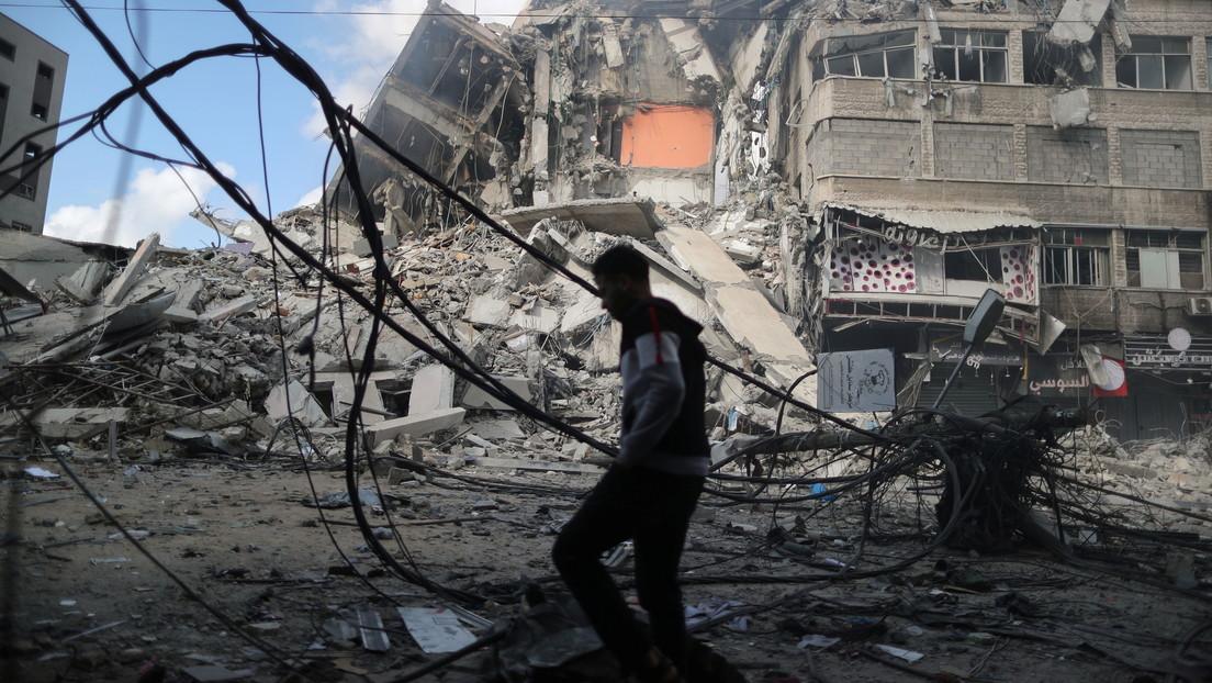 Militares israelíes entran a la Franja de Gaza en medio de los preparativos de una operación terrestre