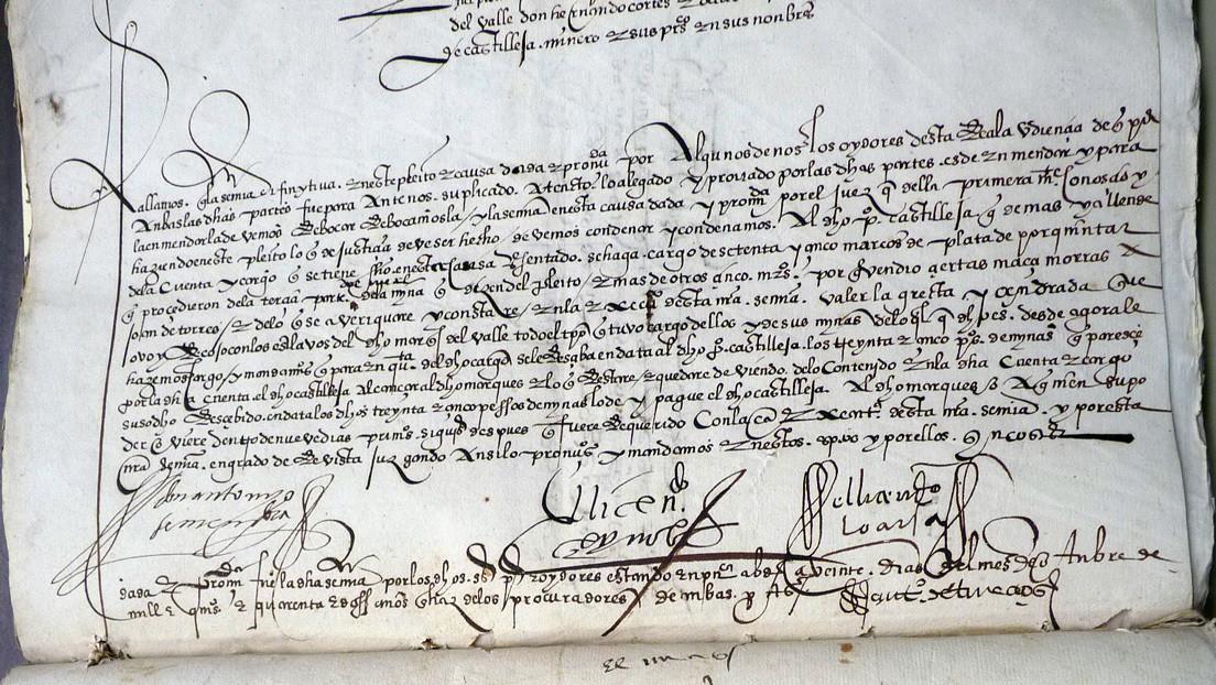 México intenta recuperar manuscritos del conquistador Hernán Cortés que fueron robados y salieron a subasta en EE.UU. (FOTOS)