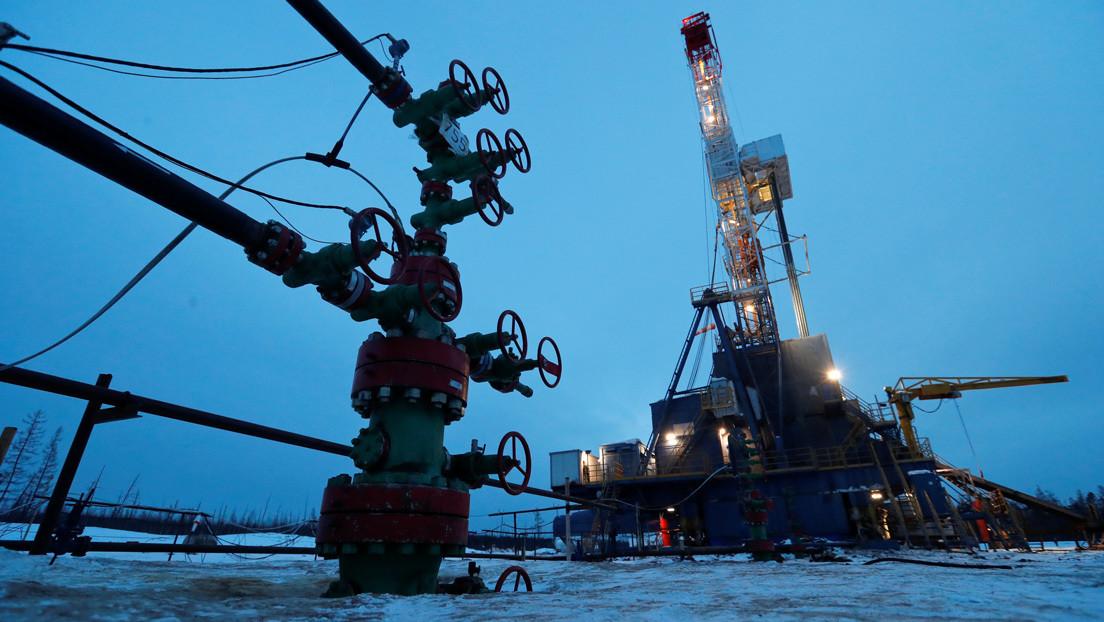 Se produce en Siberia un derrame de petróleo