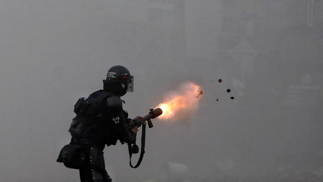 ¿Cuántos agentes de la fuerza pública han sido judicializados durante las protestas de Colombia?