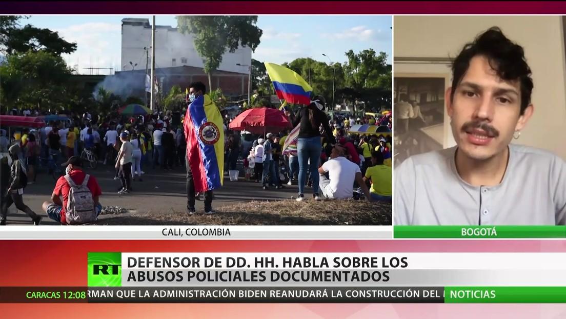 Defensor de DD.HH. habla sobre los abusos policiales documentados en Colombia