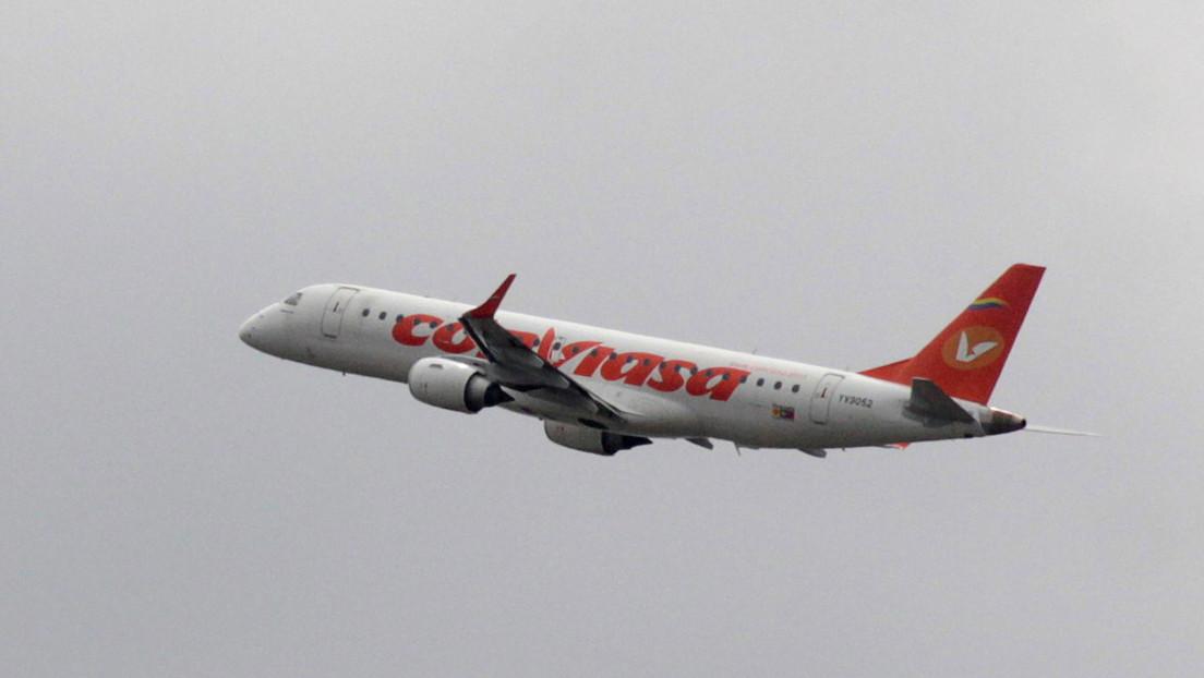 La aerolínea venezolana Conviasa realiza el primer vuelo oficial Caracas-Moscú