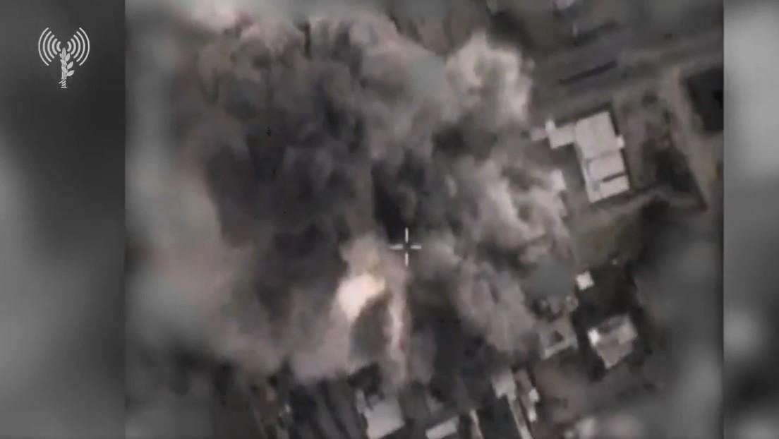 Israel afirma haber destruido la oficina del jefe de seguridad de Hamás en Gaza (VIDEO)