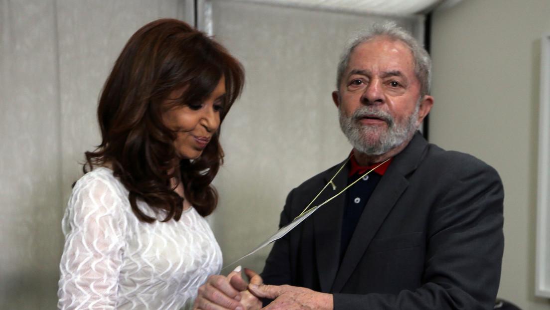 """""""Es posible construir otra América Latina"""": Cristina Kirchner y Lula da Silva comparten un acto virtual y renuevan """"esperanzas"""""""