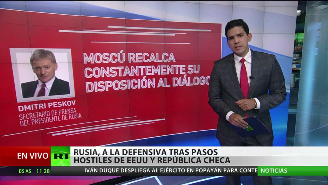 Rusia, a la defensiva tras pasos hostiles de EE.UU. y República Checa