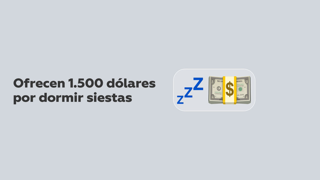 ¿El trabajo soñado?: una empresa ofrece 1.500 dólares por dormir la siesta
