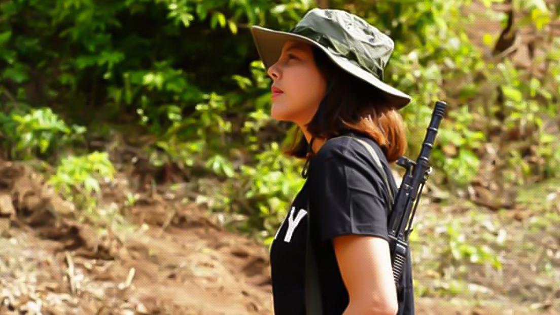 Una exreina de belleza de Myanmar se une al levantamiento armado contra la junta militar (FOTOS)