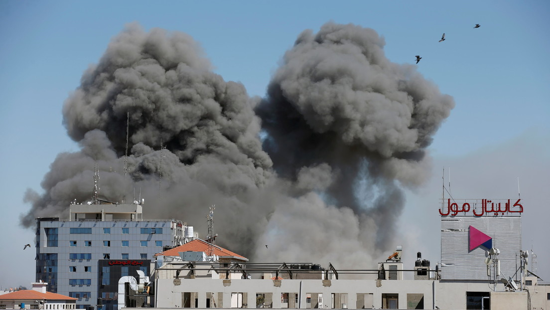 El Ejército israelí dice haber atacado la casa del líder de Hamás en Gaza (VIDEO)