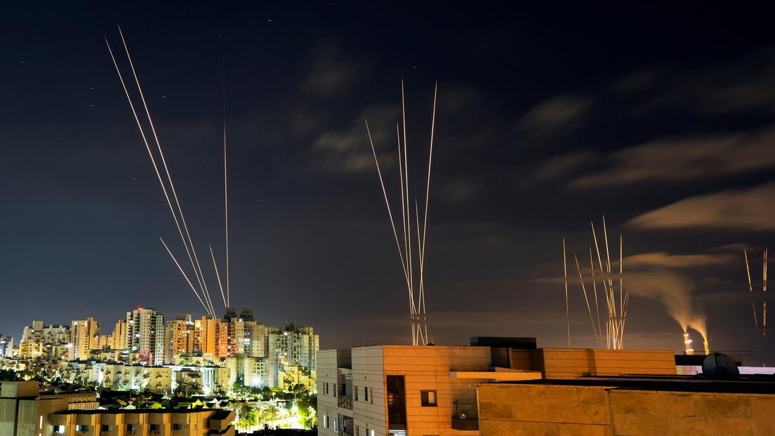 El Ejército israelí afirma que se enfrenta al mayor nivel de ataques con cohetes de su historia