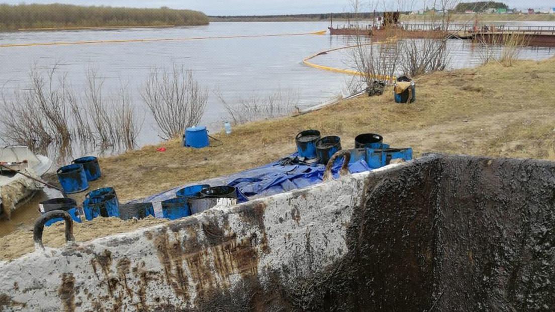 La república rusa de Komi vive una catástrofe ecológica tras un derrame de petróleo