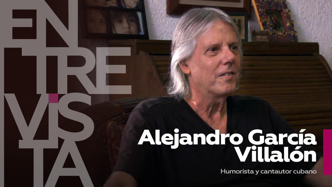 """Alejandro García Villalón, humorista y cantautor cubano: """"El humor es subversivo, nunca está al servicio del poder"""""""