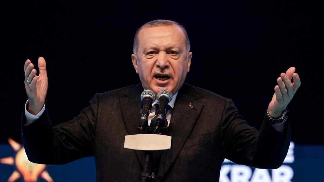 """Erdogan afirma que Biden tiene las """"manos ensangrentadas"""" por apoyar a Israel"""