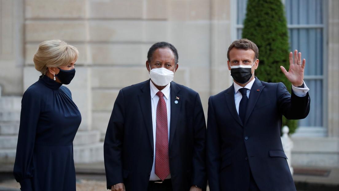 Macron anuncia un acuerdo para liquidar los atrasos de Sudán con el FMI