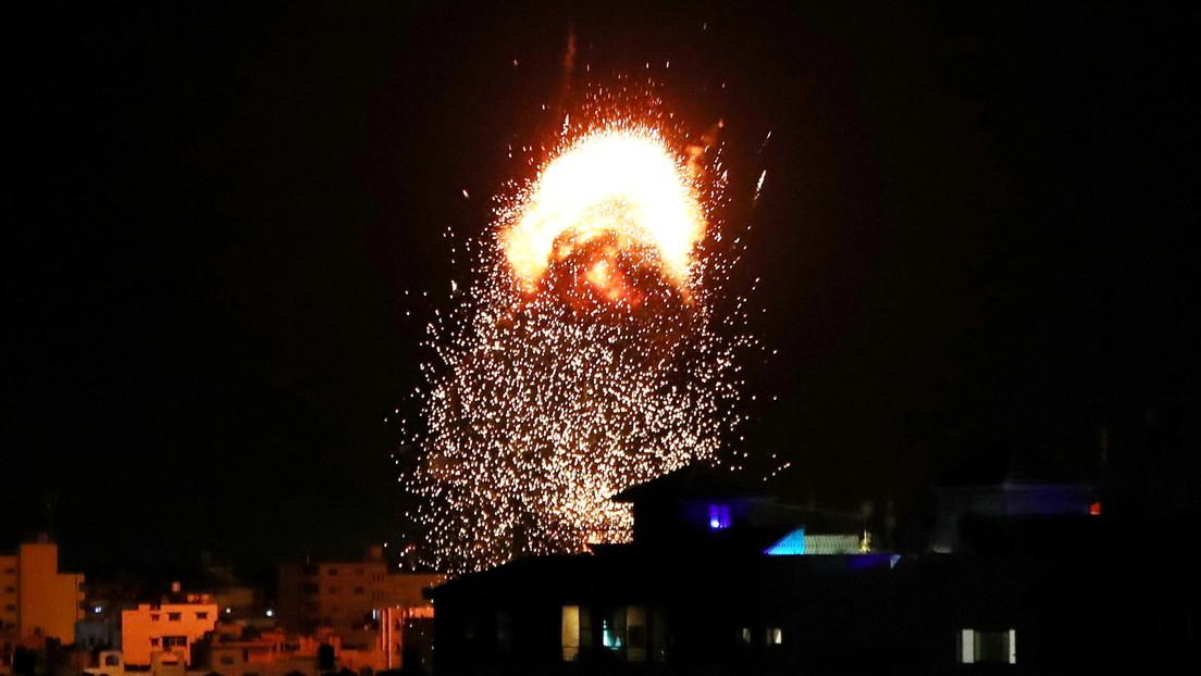 Israel realiza nuevos ataques contra Gaza mientras agradece a EE.UU. por volver a bloquear una resolución de la ONU que pedía un alto el fuego