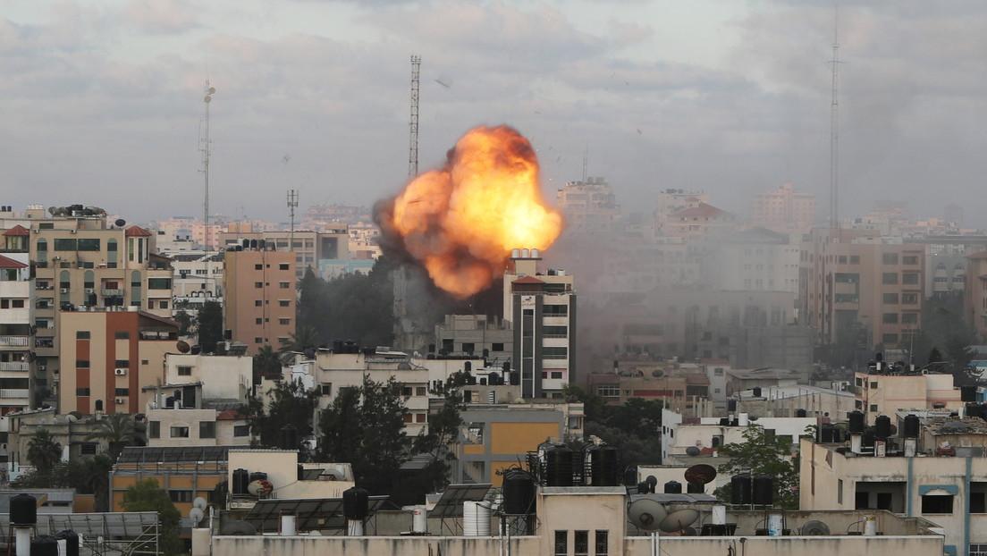 Un ataque israelí alcanza el principal sitio de pruebas y vacunación contra el covid en Gaza e interrumpe su funcionamiento