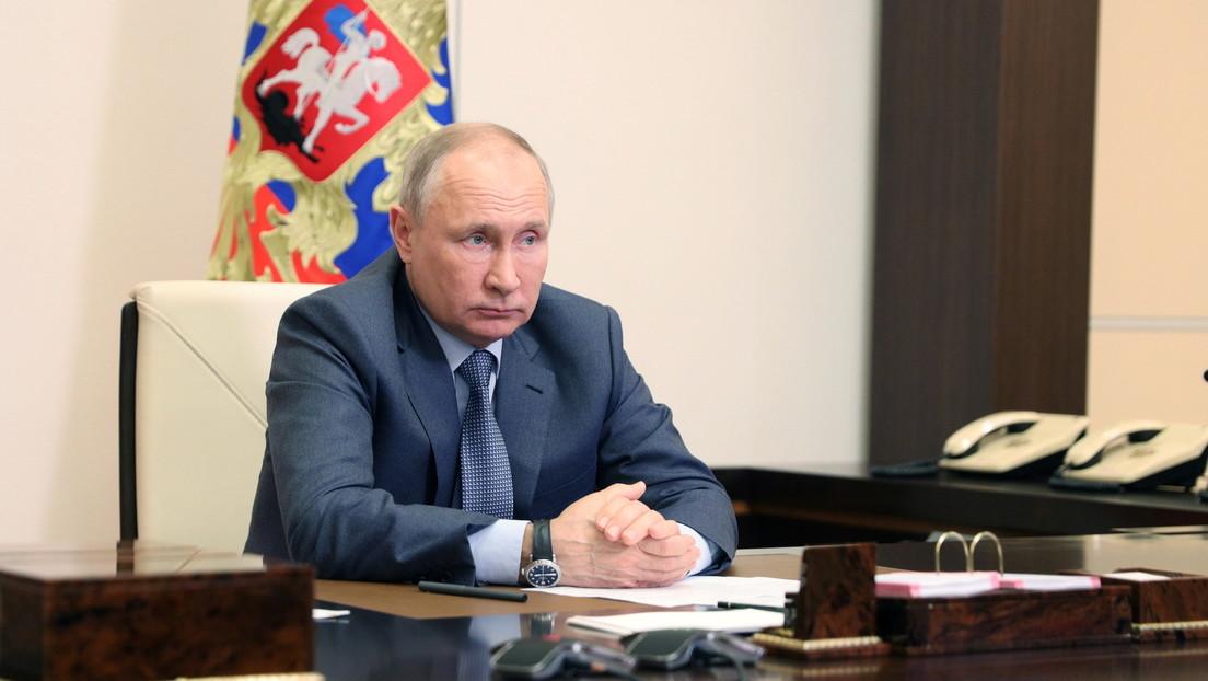 Putin alienta a ambas partes del conflicto palestino-israelí a poner fin a la violencia