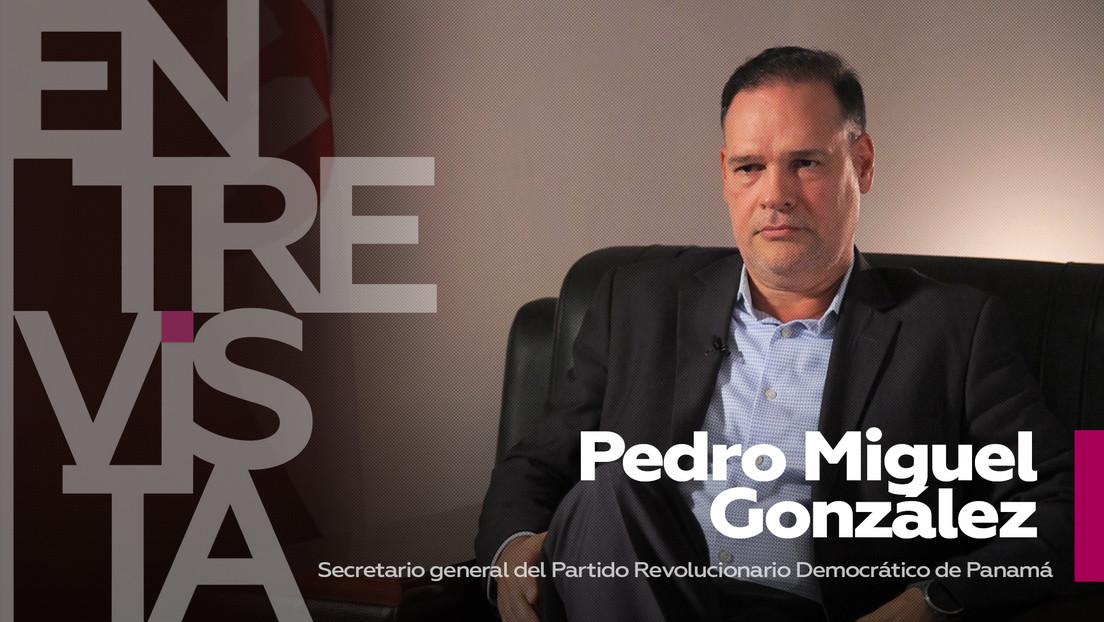"""Pedro Miguel González, líder del PRD de Panamá: """"Esperamos que Panamá vuelva a mediar en los procesos de paz en la región, no servir a EE.UU."""""""