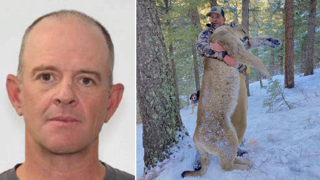 FOTO: Un asaltante al Capitolio de EE.UU. posa con un puma cazado a tiros y se enfrenta al arresto domiciliario