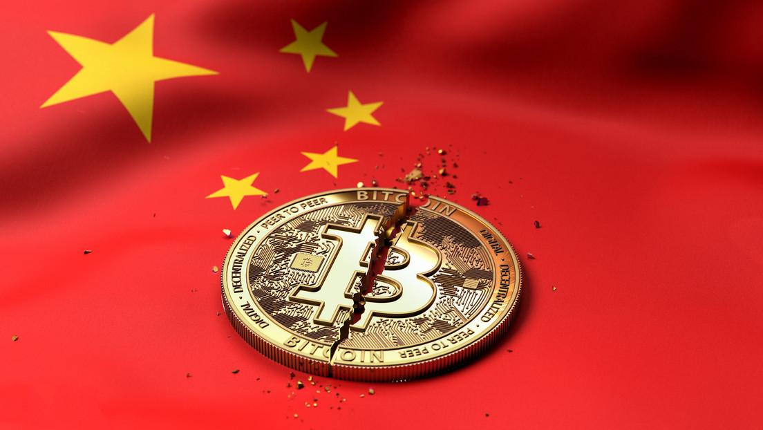China prohíbe a sus instituciones financieras brindar servicios relacionados con criptomonedas y hace caer el bitcóin