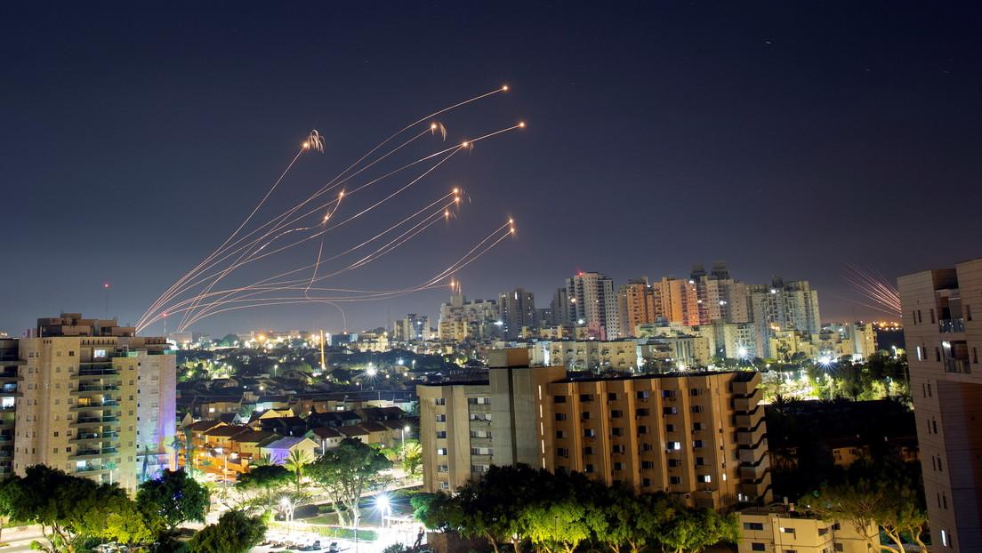 Israel bombardea la Franja de Gaza por noveno día consecutivo en medio de los continuos disparos de cohetes desde el enclave palestino