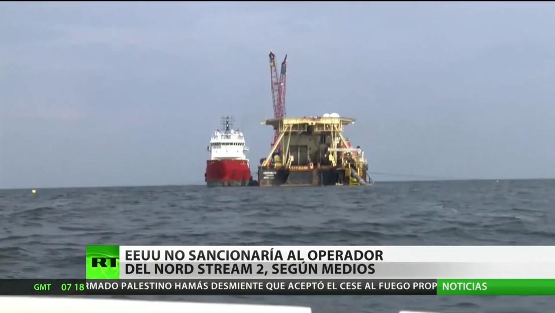 EE.UU. no sancionaría al operador del gasoducto Nord Stream 2, según medios