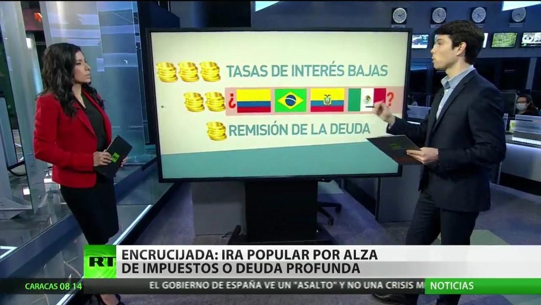 América Latina, en una encrucijada: ira popular por alza de impuestos o deuda profunda