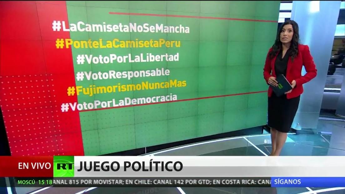 Polémica en Perú por una campaña a favor de Fujimori de jugadores de fútbol
