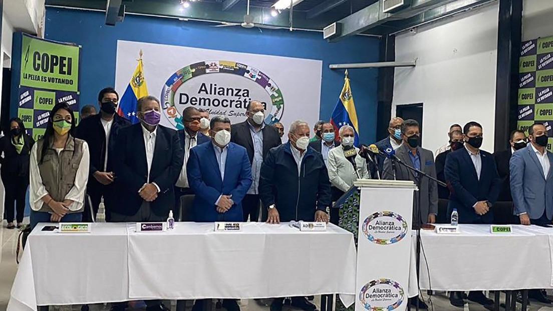 ¿Una nueva alianza? Partidos de la oposición en Venezuela se unen para participar en las elecciones y rechazar las sanciones