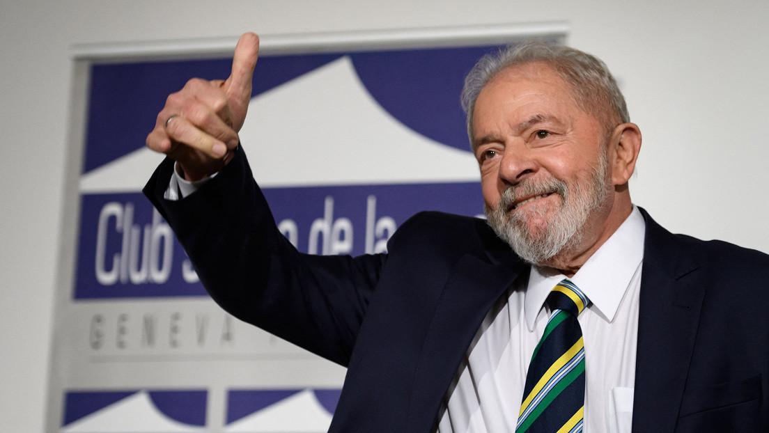 """Lula da Silva ironiza con que el exministro de Salud Eduardo Pazuello le """"copió"""" la corbata en su comparecencia ante el Senado"""