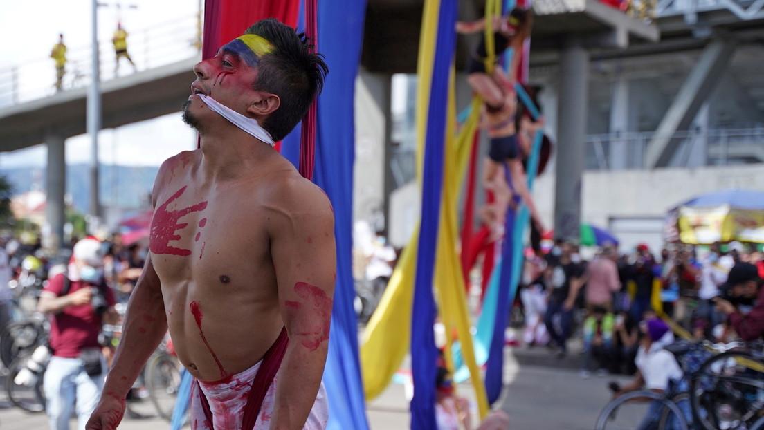 La Fiscalía de Colombia investiga 178 casos de abusos y lesiones contra civiles por parte de la fuerza pública