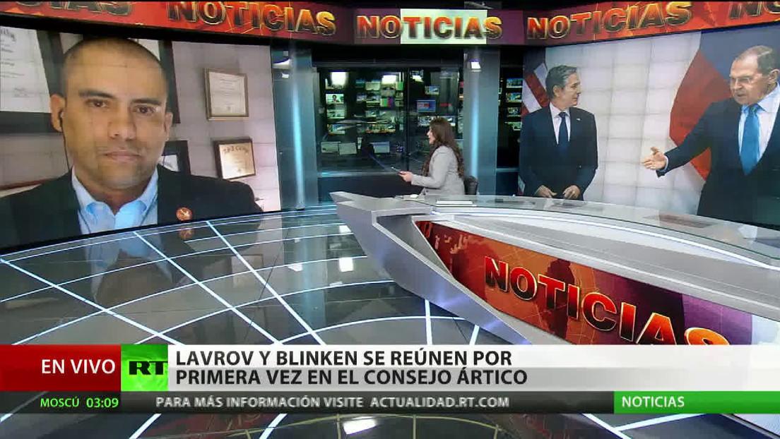 """Experto: """"La reunión de Blinken y Lavrov manda un mensaje positivo"""""""