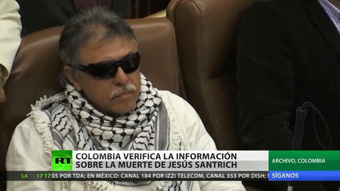 Colombia estaría verificando la información sobre la muerte de 'Jesús Santrich'