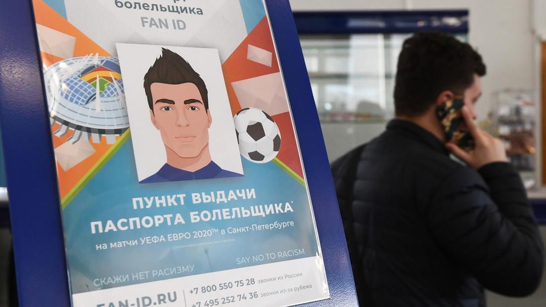 Los aficionados extranjeros podrán viajar a Rusia para la Eurocopa 2020 sin visado