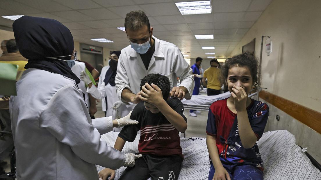 """El secretario general de la ONU califica de """"infierno en la tierra"""" la vida de los niños en Gaza y alienta a """"detener las hostilidades inmediatamente"""""""
