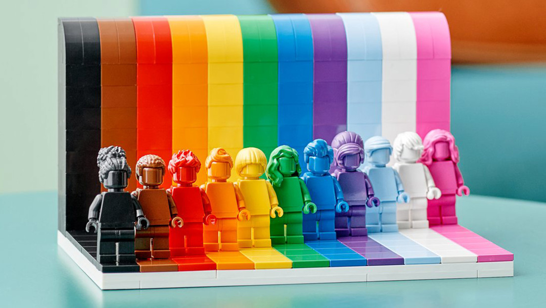 Lego lanza un set dedicado a la comunidad LGBTQIA+
