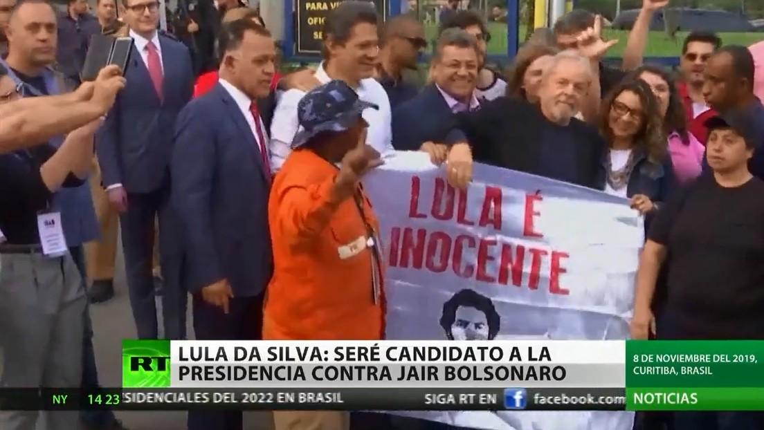Lula da Silva confirma su voluntad de ser candidato a la Presidencia de Brasil