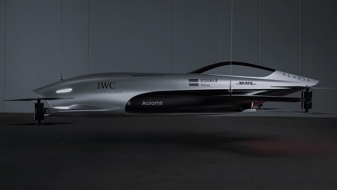 ¿Una fórmula 1 en el cielo? Comienzan la producción de un 'bólido' eléctrico para carreras aéreas