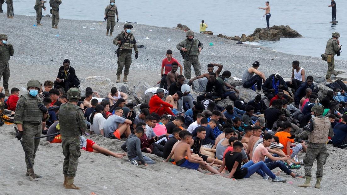 Una mujer cruza toda España para encontrar a sus dos hijas entre los cientos de menores marroquíes que llegaron a Ceuta