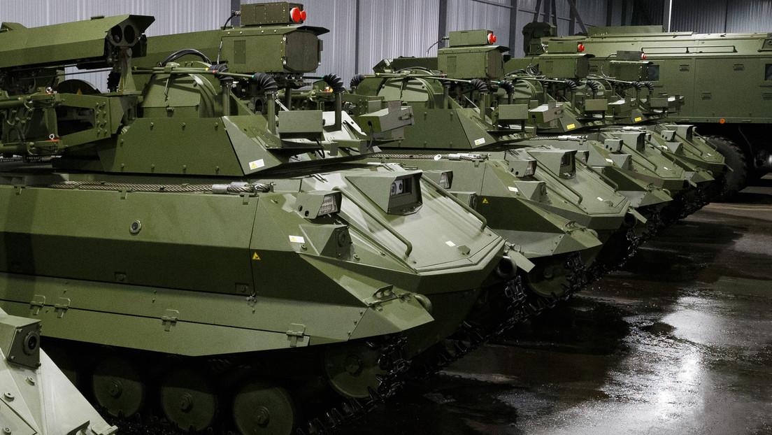 Ministro de Defensa de Rusia afirma que el país ya produce en serie unos robots de combate con inteligencia artificial