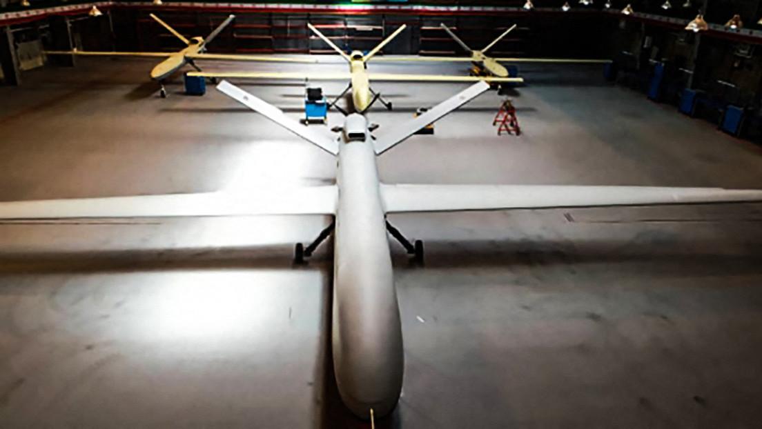 Irán presenta su nuevo dron militar llamado Gaza