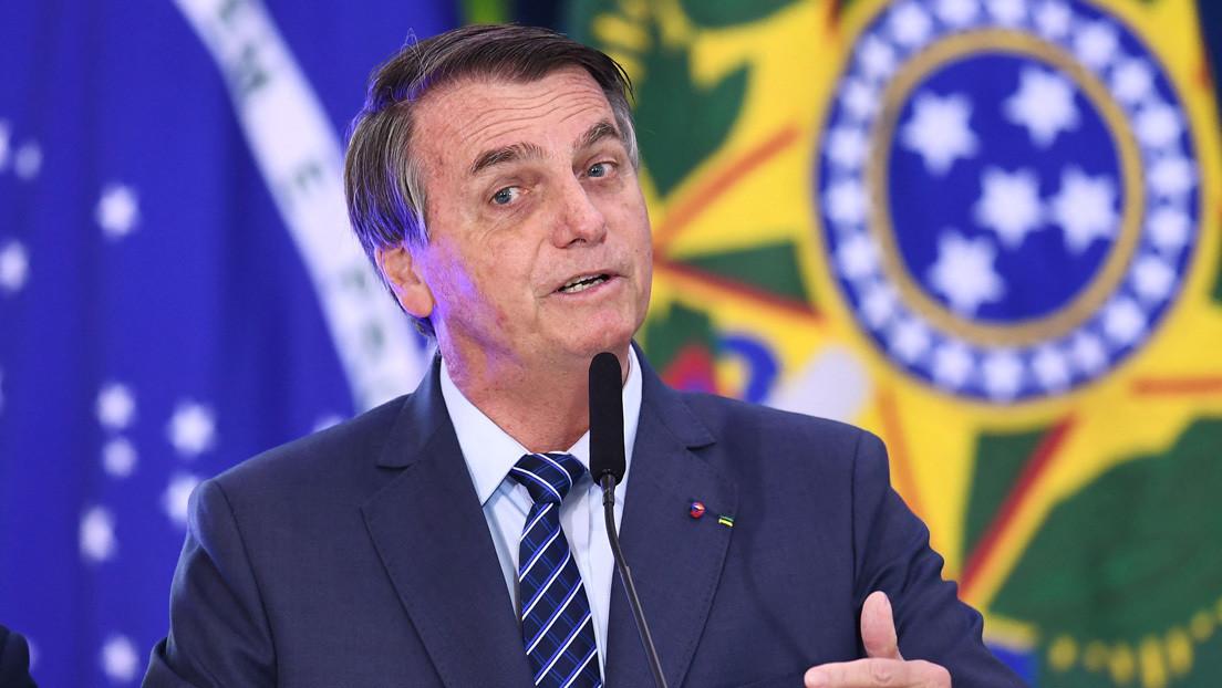 """Bolsonaro vuelve a llamar """"ladrón"""" a Lula y califica de """"gordito dictador"""" al gobernador de Maranhao"""