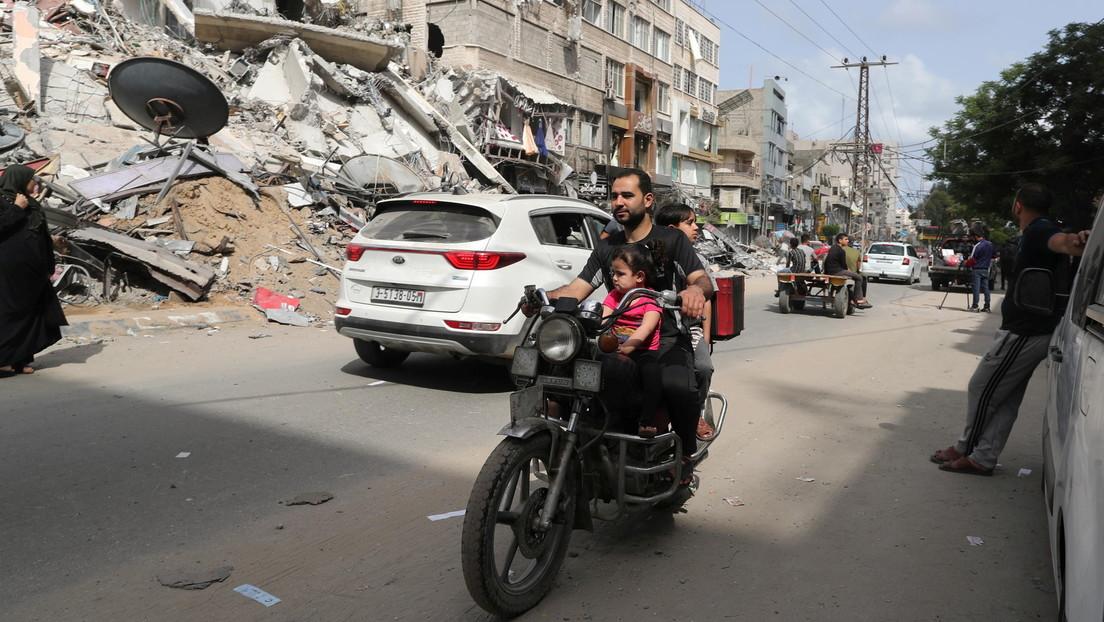 """Biden dice que la solución de dos Estados para Israel y Palestina """"es la única respuesta"""" para llevar la paz a la región"""