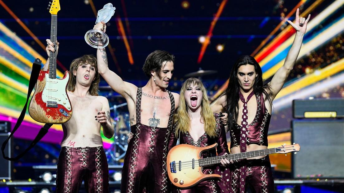 El grupo italiano Maneskin gana Eurovisión 2021