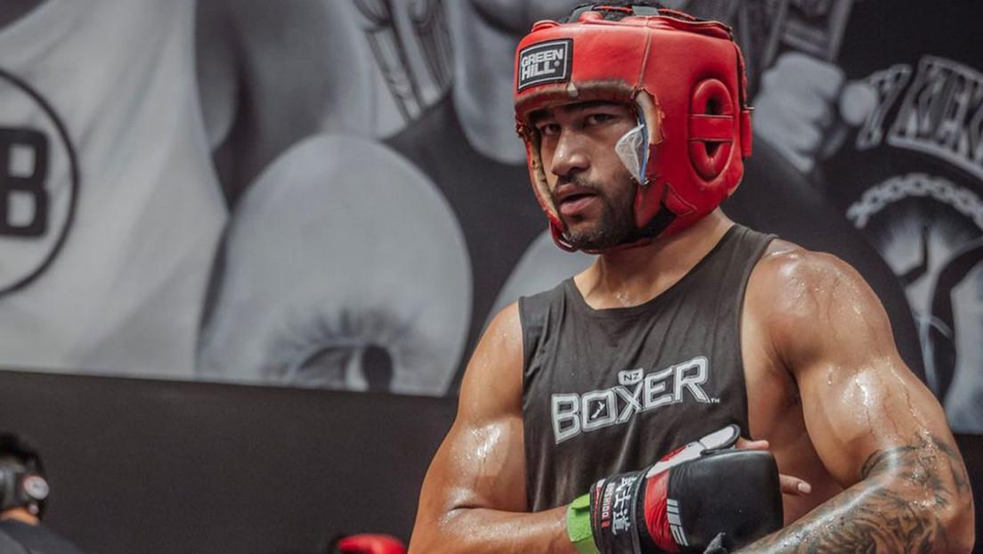 Fau Vake, luchador neozelandés de MMA