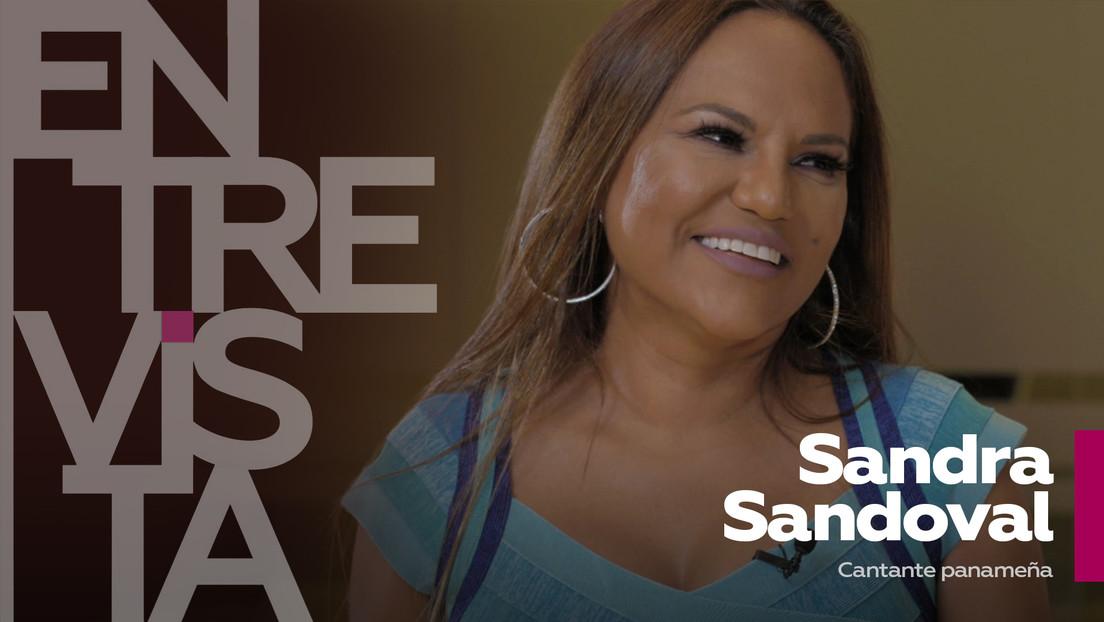 """Sandra Sandoval, cantante panameña: """"La primera vez que canté me pagaron con un racimo de plátanos"""""""